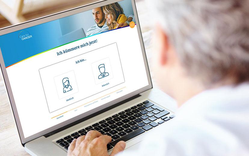 Nutze unseren intuitiven Online-Fragebogen und starte heute Deine individuelle Krebsvorsorge.